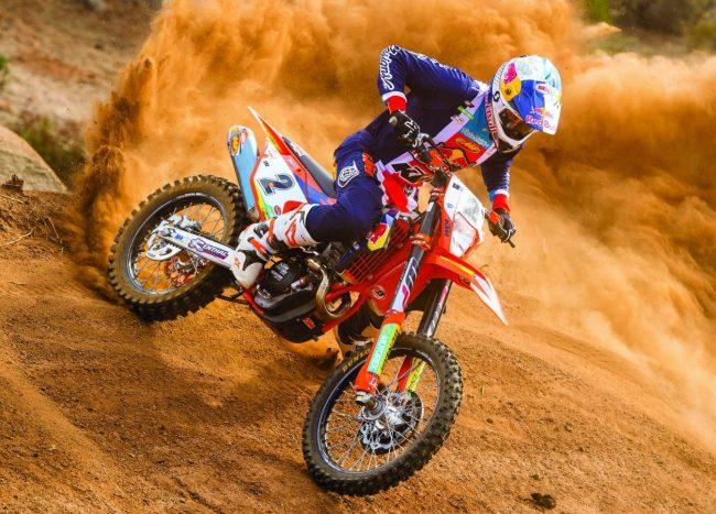 Cody Webb KTM 350 EXC-F.