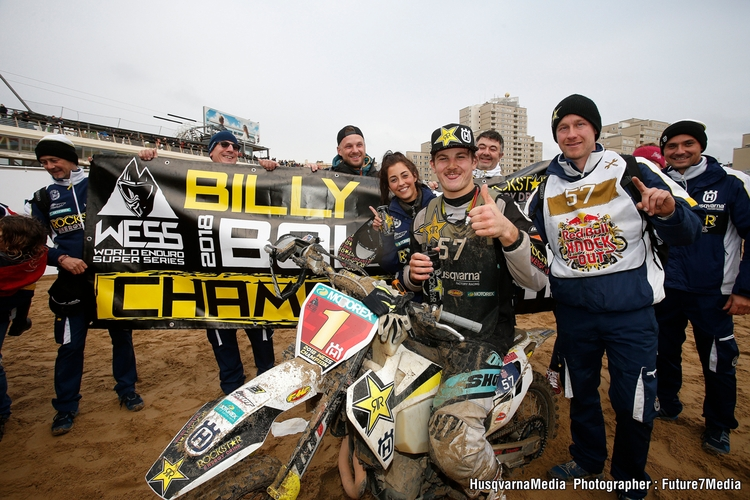 Billy Bolt claims 2018 WESS title at RED BULL KNOCK OUT