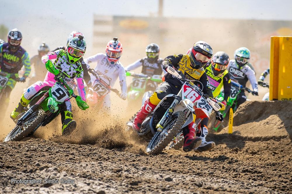 Race, Rockstar Energy Husqvarna Factory Racing's, Zach Osborne.